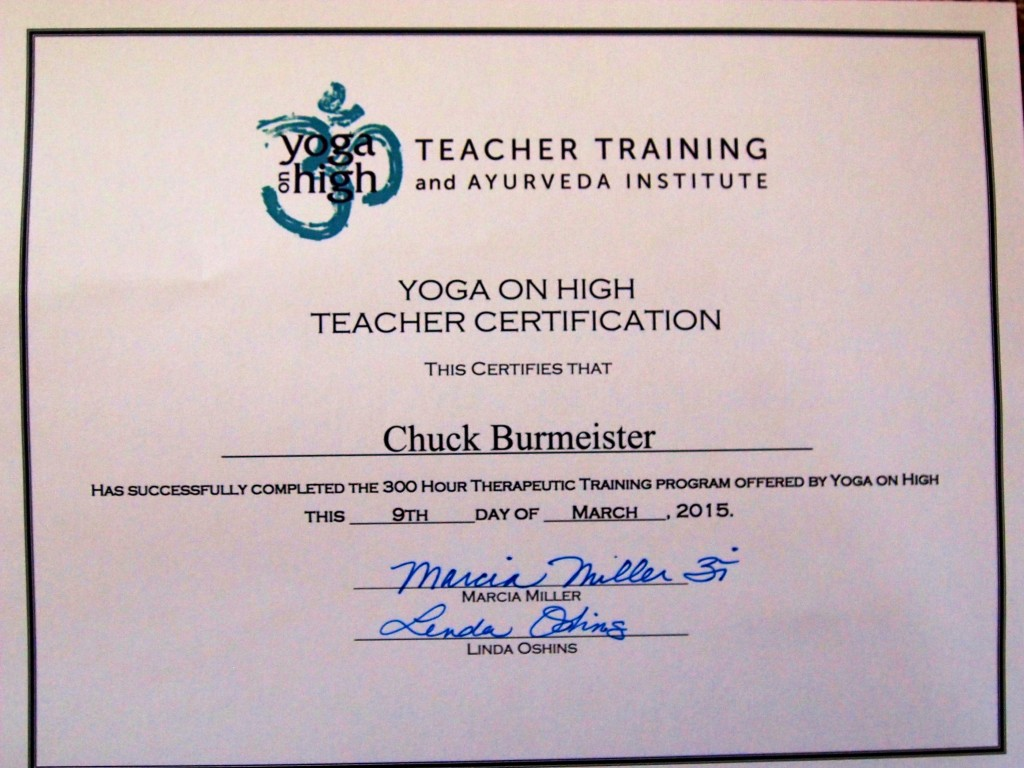 300 Hour Therapeutic Training