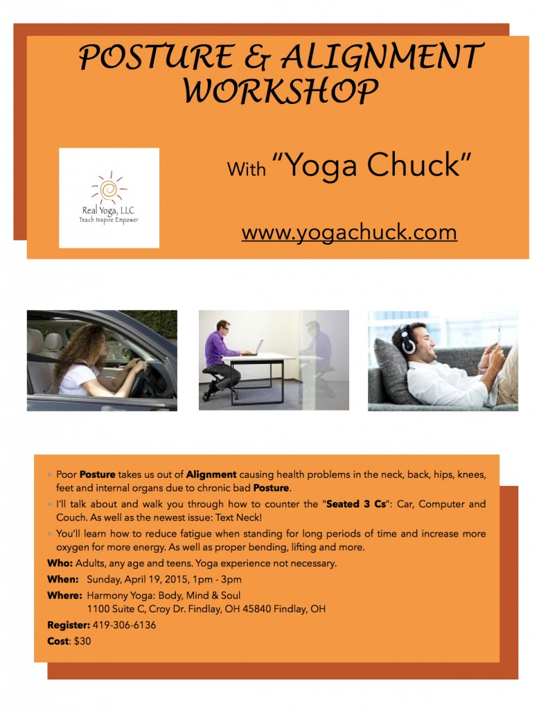 Posture & Alignment Workshop by Yoga Chuck