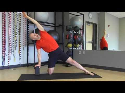 "#50 ""Yoga Minute"" Gate Latch Pose"