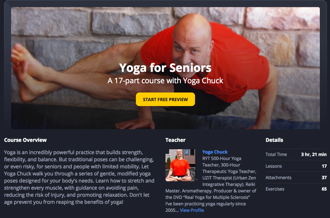 17 lessons yoga for seniors and more video for Floor yoga poses for seniors