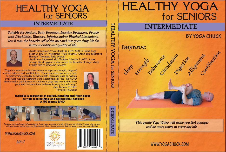 Yoga for Seniors DVDs, Coming Soon