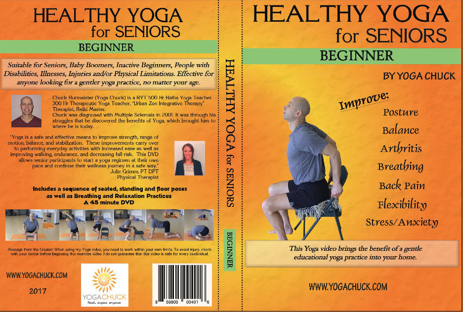 Yoga For Seniors Dvds Coming Soon Yoga Chuck