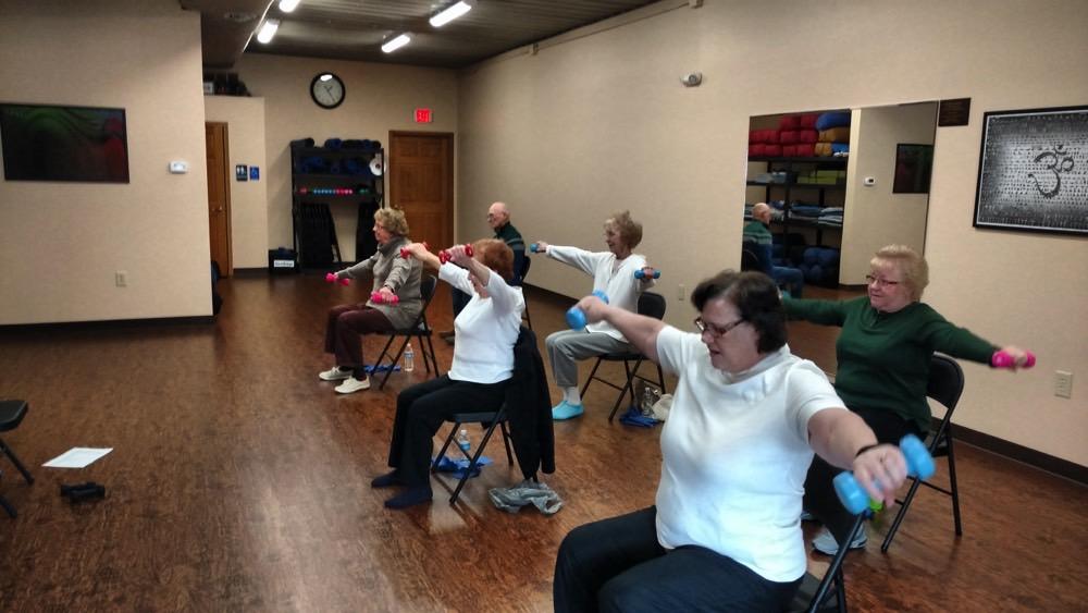 YogaChuck.com - Class in session.